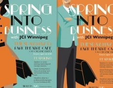 JCI SPRING INTO BUSINESS POSTERS