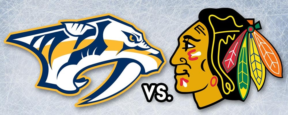 Predators vs Blackhawks