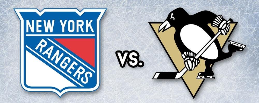 rangers vs penguins