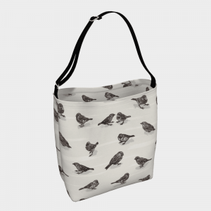 Sparrow Day Tote